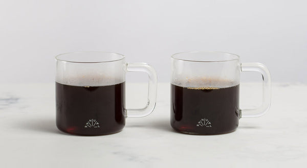 Manual coffee mugs