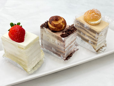 Square Cake Bundle 小方蛋糕套裝 - Online Exclusive!