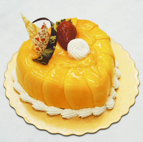 Heart Shape Fresh Mango Cake 心形鮮芒果蛋糕