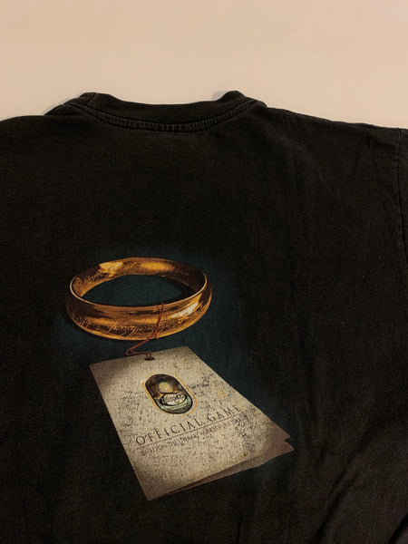 Vintage The Lord of The Rings Game Tee 2002 - L