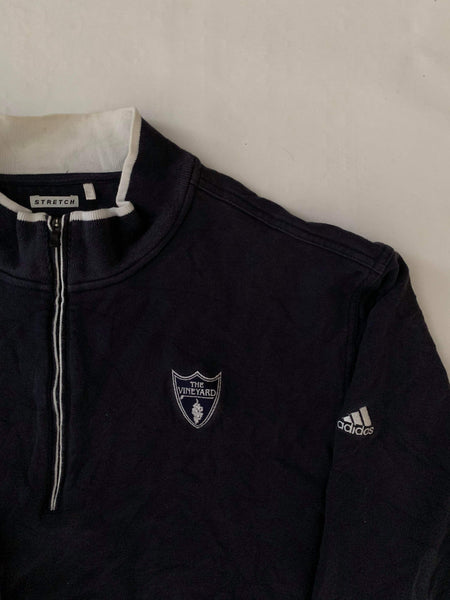 Vintage Adidas The Vineyard 1/4 Zip Sweatshirt - XXL