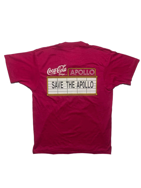 Vintage Save The Apollo Theater Tee 80s - L