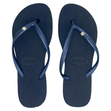 Load image into Gallery viewer, Havaianas Slim Crystal Navy Blue - Flops Arena
