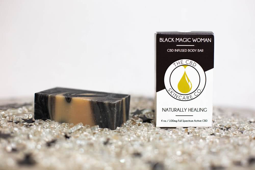 Black Magic Woman Body Soap 100mg