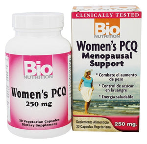 Bio Nutrition Women's PCQ Menopausal Support 30ct