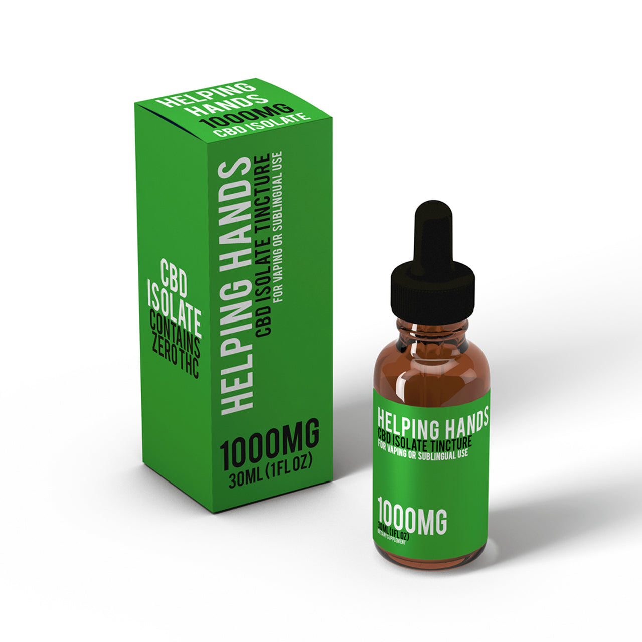 Isolate CBD Tincture 1000mg