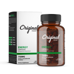 Original Hemp Capsules - Energy
