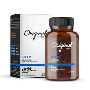 Original Hemp Capsules - Sleep