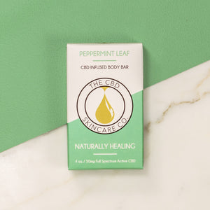 Peppermint Leaf Body Soap 50mg