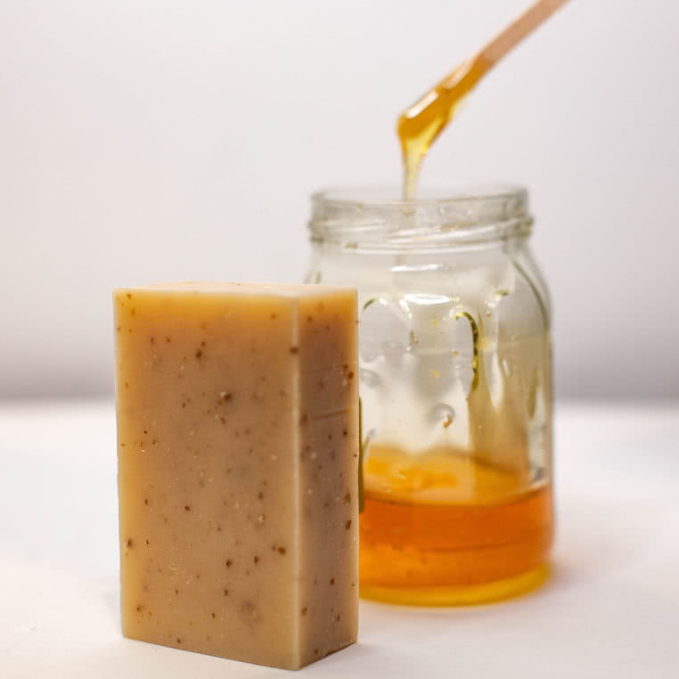Shea Honey Oat Body Soap 50mg