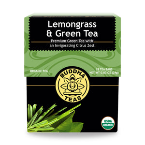 Lemongrass and Green Tea - Organic