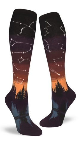Tall Constellations Sunset Ombre