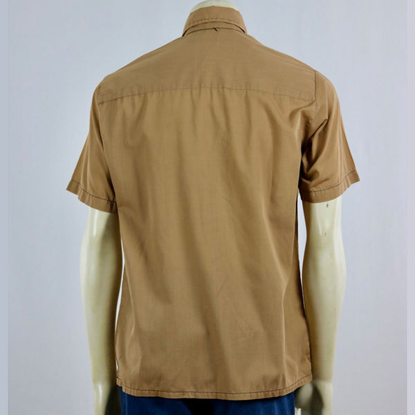 "Montgomery Ward ""Never Needs Ironing"" Pullover   M"