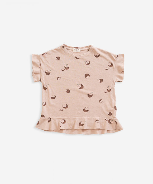 Coconut Print Top    PLAY UP