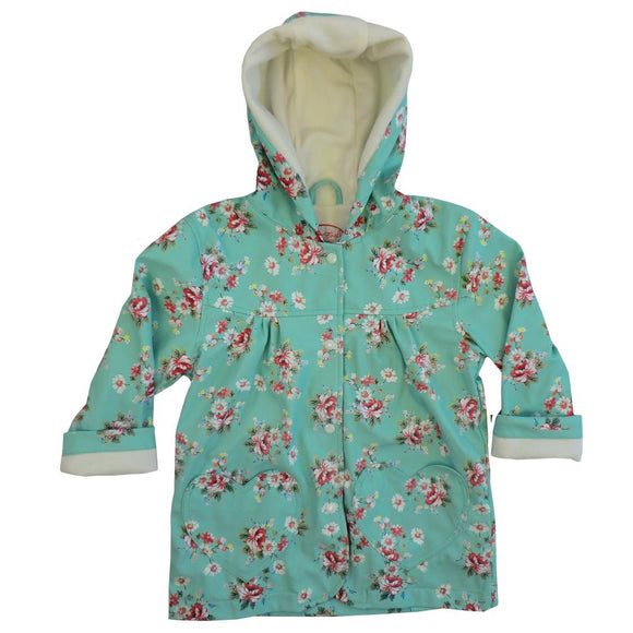 Blue Floral Raincoat                   POWELL CRAFT