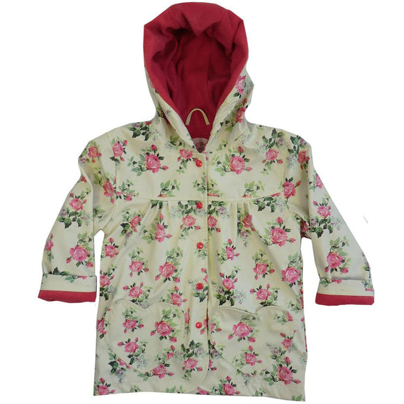 Yellow Floral Raincoat                                 POWELL CRAFT