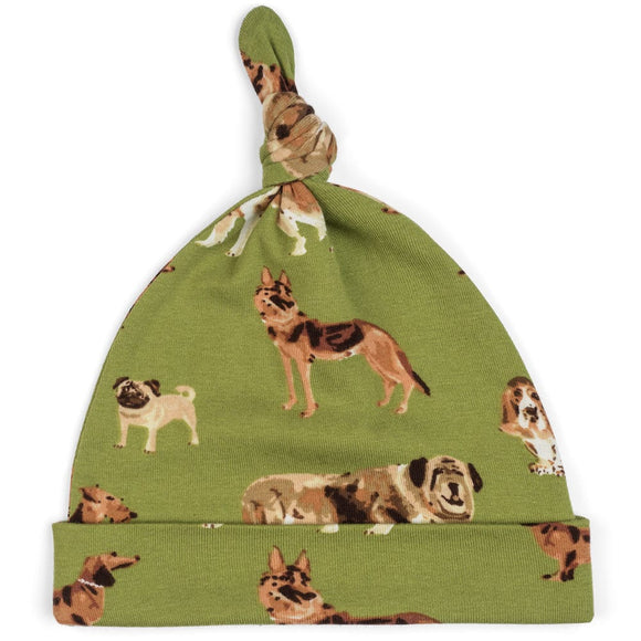 Green Dog Knotted Hat          MILKBARN