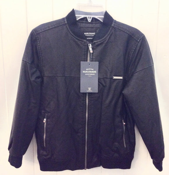 Faux Leather Jacket     MAYORAL