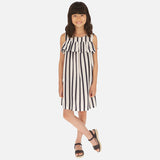 Stripes and Ruffle Dress MAYORAL