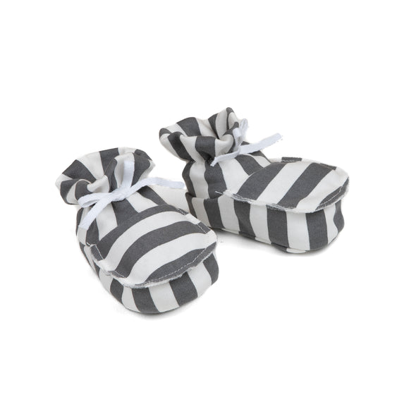 Stripe Booties.                     MESSAGE IN A BOTTLE