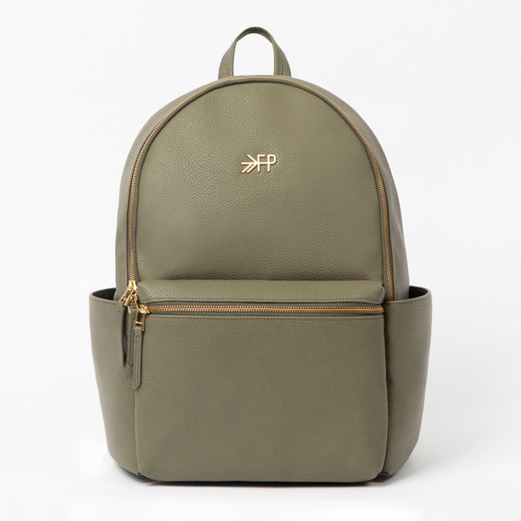 Classic City Backpack in Olive Green FRESHLY PICKED