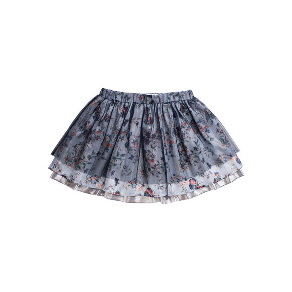 Butterfly Tulle Layered Skirt              IMOGA