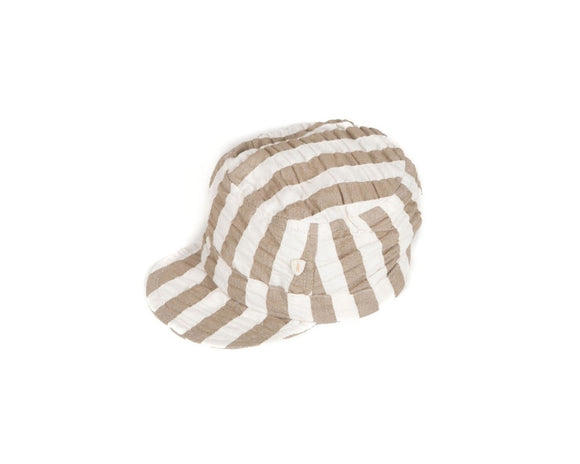 Stripe Hat                          MESSAGE IN A BOTTLE