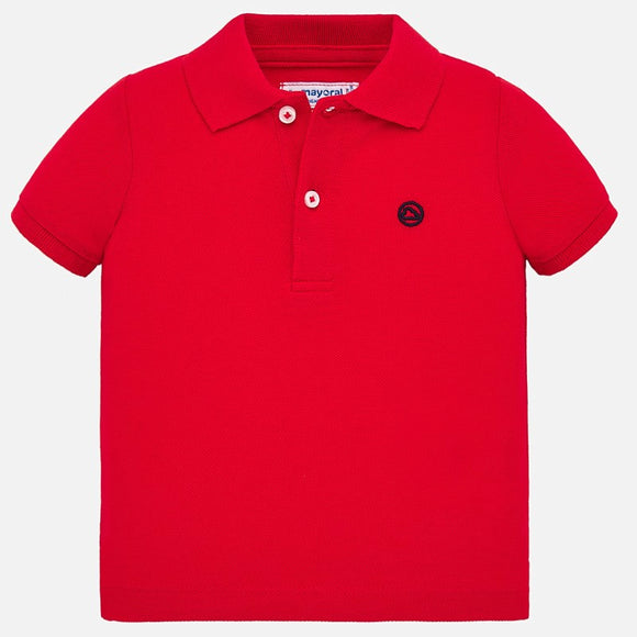 Basic Collared Shirt in Red MAYORAL