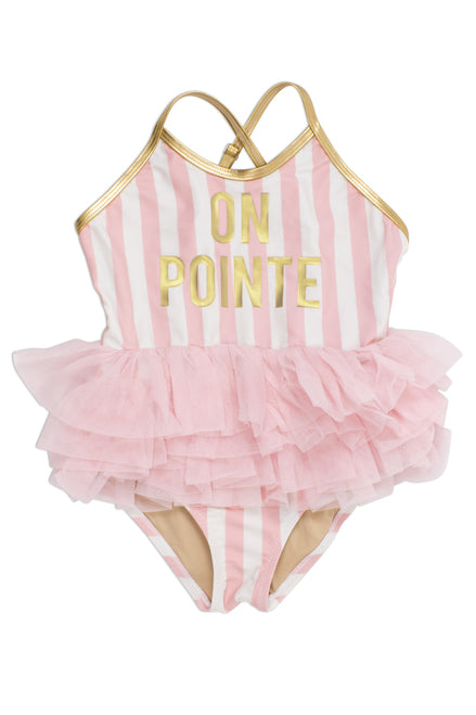 On Pointe Tutu Swimsuit                                  SHADE CRITTERS