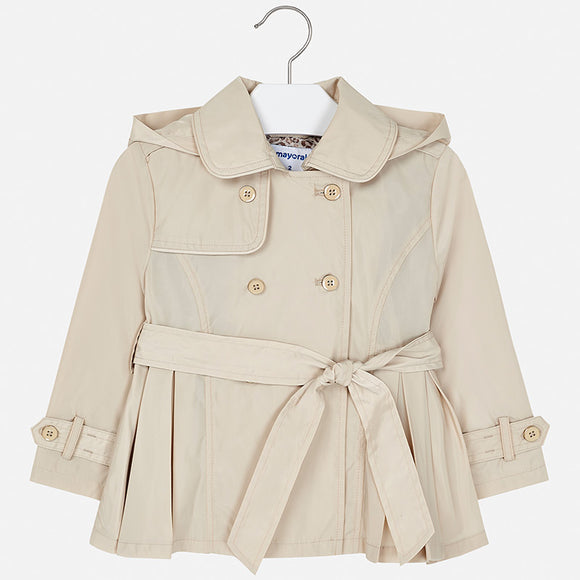 Button Up Trench Coat MAYORAL