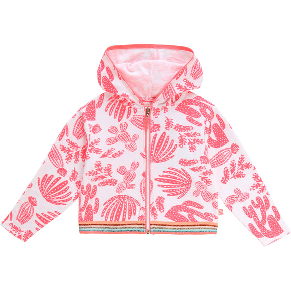 Terry Cloth Hooded Jacket  BILLIEBLUSH