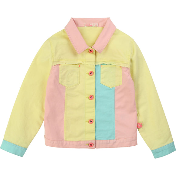 Neon Color Block Jacket                  BILLIEBLUSH