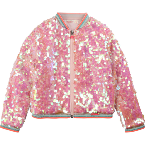 Paillette Bomber Jacket                       BILLIEBLUSH