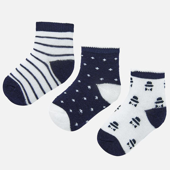 3 Pack Printed Socks MAYORAL