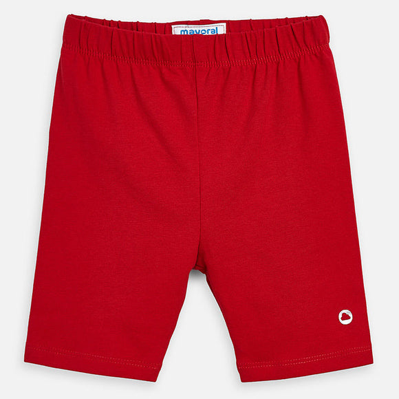 Basic Bike Shorts in Red MAYORAL