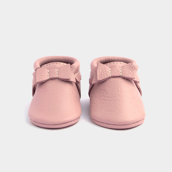 Blush Flat Bow Moccasin FRESHLY PICKED