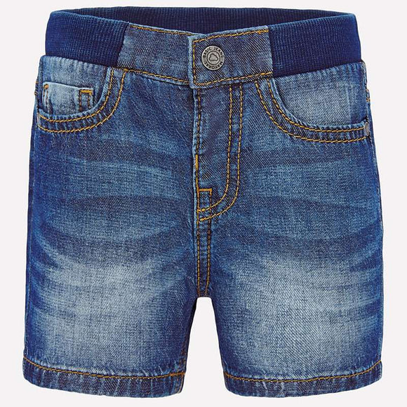 Stretch Denim Shorts   MAYORAL