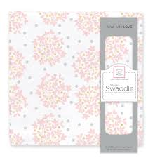 Heavenly Floral Swaddle          SWADDLE DESIGNS