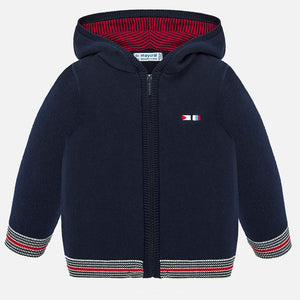 Knit Hooded Sailboat Jacket  MAYORAL