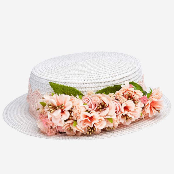 Lace & Flowers Hat MAYORAL