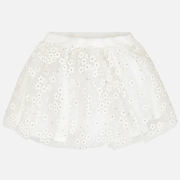 Tulle Flower Skirt  MAYORAL