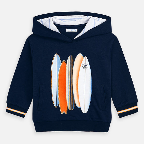 Surfboard Hooded Pullover   MAYORAL