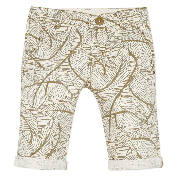 Leaf Patterned Shorts CATIMINI