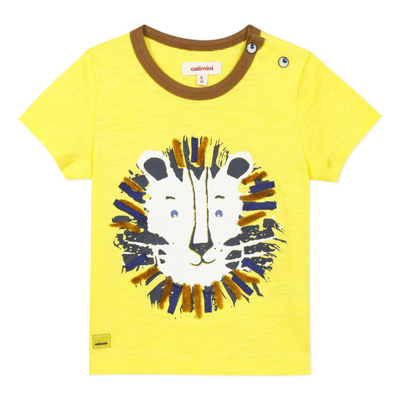 Short Sleeve Lion T-Shirt CATIMINI
