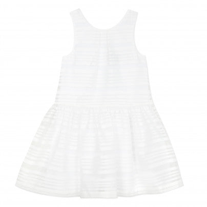 Stripe Organza Sundress  JEAN BOURGET