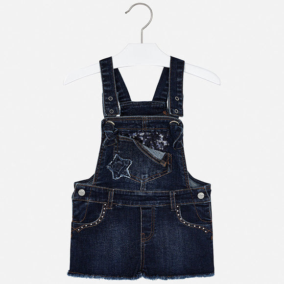 Star Denim Shortalls  MAYORAL