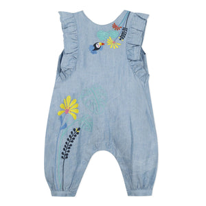Embroidered Coverall CATIMINI