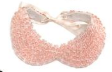 Pink Collar Necklace     MADEMOISELLE CHARLOTTE