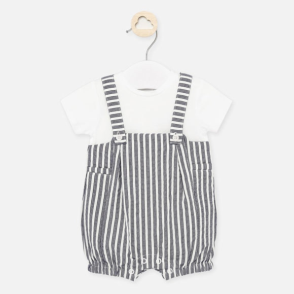 Stripe Shortall Set MAYORAL