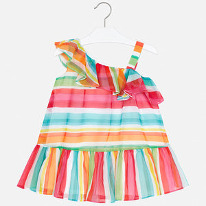 Rainbow Ruffle Sundress  MAYORAL